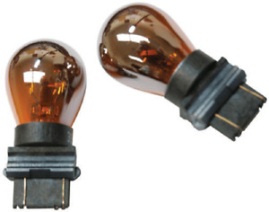 Ipcw Cwb 3157ca Set Of 2 Chrome Amber 3157 Waffle Mount Replacement Bulbs