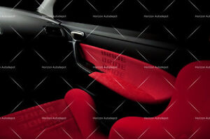 Jdm Red Bride Racing Seat Cover Door Panel Armrest Decoration Material 1mx1 6m
