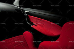 Jdm Red Bride Racing Seat Cover Door Panel Armrest Decoration Material 2mx1 6m