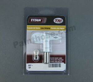 Titan 697 219 697219 Tr1 Line Striping Spray Tip
