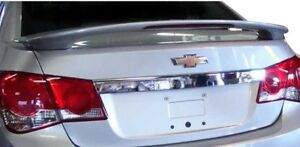Painted Any Color Rear Spoiler W Led Light For 2011 2015 Chevy Cruze 4dr