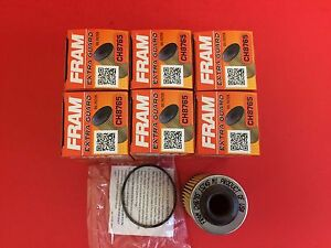 Lot Of 6 Engine Oil Filter Extra Guard Fram Ch8765 For Cadillac Ats Cts Srx