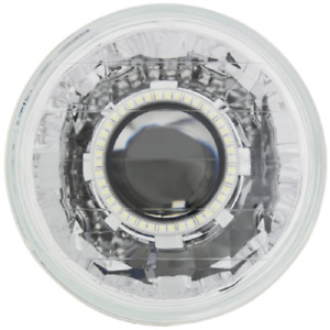 Ipcw Cwc 7008e Universal Chrome Lhd 7 Round Headlight With 64mm Projector