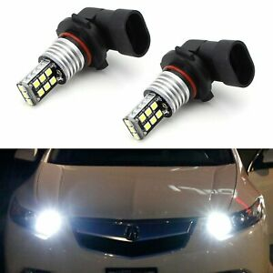 15 Smd Led High Beam Daytime Running Light Kit For Acura Ilx Tsx Mdx Tl Rl Honda