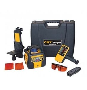 Cst berger 2800ft Self leveling Dual beam Dual slope Rotating Laser W Receiver