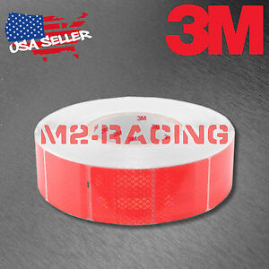 3m Diamond Grade Red Conspicuity Tape 2 X 2 Ce Approved Reflective Safety