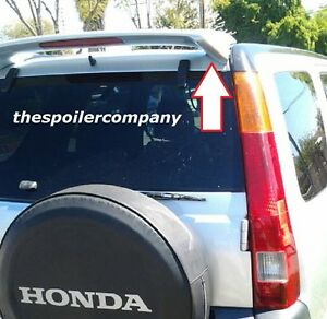 Un painted grey Primer Rear Hatch Spoiler Wing For 2002 2006 Honda Crv W light