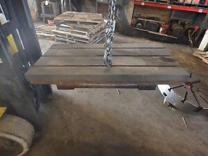 39 25 X 20 X 4 Steel Welding T slotted Table Cast Iron Layout Plate 3 Slot