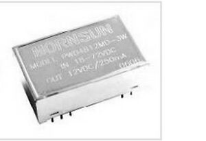 Qty 5 Mornsun Pwb2405md 3w Dc dc Converter 24v In 5v Isolated Out 3w