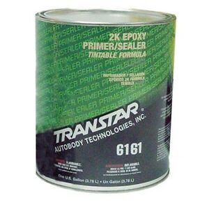 Transtar 2k Epoxy Primer sealer Dtm Black Gallon 6161