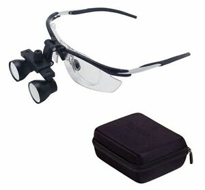 2 5x Dental Binocular Loupes Medical Magnifier Disassembly Antifogging Loupe