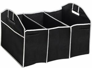 Trunk Cargo Folding Organizer Caddy Storage Collapse Bag Bin For Auto Car Truck