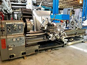30 x120 cc Mazak Engine Lathe 1991 4 125 Hole In mm