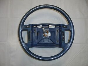 1990 1993 Mustang Steering Wheel With Switches