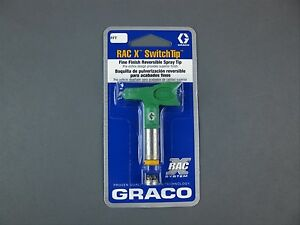 Graco Fft208 Rac X Fine Finish Reversible Switchtip Spray Tip Oem