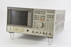 Hp 89410a Dc To 10 Mhz Vector Signal Analyzer With W cdma Capability