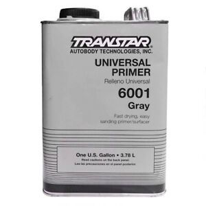 Transtar Finish tec Universal Primer 1 Gallon Gray 6001
