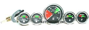 For Massey Ferguson Tractor Tachometer Temp Oil Pressure amp fuel Gauge