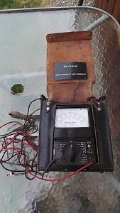 Vintage Northern Electric Tester Model Ns14510 lq5 Bach simpson Ohmmeter