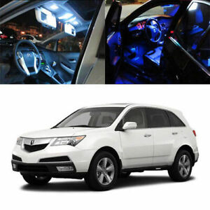 10 X 5050 smd Led Full Interior Lights Package Deal For 2007 2013 Acura Mdx Suv