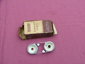 1957 Mercury Generator Lights Dash Bezel Nos Fek 10943 B