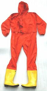 Nos Rfh 1 Anti Chemical Overall Personal Protection Spill Safety Suit Hazmat