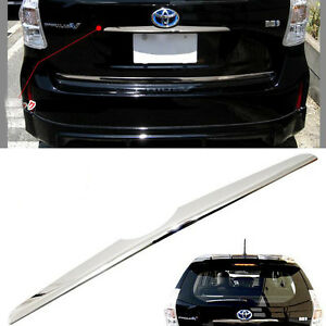 Sus304 Stainless Steel Rear Emble Handle Trim Cover For Toyota Prius V Zvw40