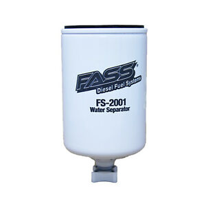 Fass fs 2001 Titanium Series Diesel Red blue Fuel Filter And Water Separator