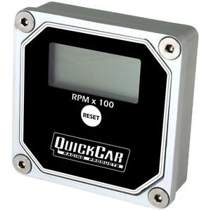 Quickcar Racing Products 611 100 Tachometer Gauge 0 15000 Rpm Digital Waterproof