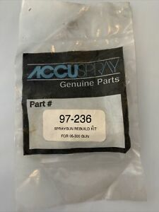 Accuspray 3m Rebuild Kit Genuine Replacement Part 97 236 For 05 300 Gun