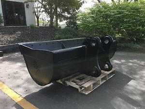 New 72 Ditch Cleaning Bucket For A Case Cx160 With Pins