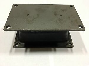 Vibratory Plate Compactor Shock Mount Replacement For Stanley Bobcat And More