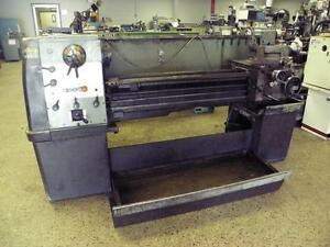 15 X 50 Clausing Colchester Gap Bed Engine Lathe Parts Rebuild Machine