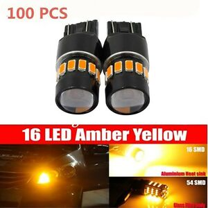 100x 50w Cree 921 912 T10 T15 Led 6000k Hid White Backup Reverse Lights Bulb