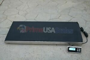 Heavy Duty 1 000 X 0 2 Lb Veterinary Or Industrial Freight Scale Livestock Scale