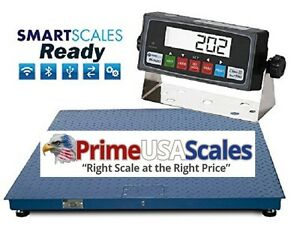 Floor Scale 4x4 10 000 Lb 48 X 48 Pallet Scale With Indicator