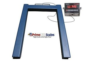 Floor Scale For Pallet Jacks U Scale 5 000 Lb Platform Scale