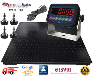 Floor Scale heavy Duty Platform 48x48 10 000 X 1lb Digital Indicator