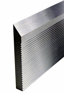 Corrugated Back High Speed Molder Knife Steel 25 X 2 X 1 4 Bars