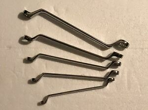 Craftsman Professional Full Polish Deep Offset Box End 5 Metric Mm Wrench Set