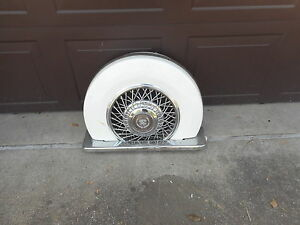 E G Continental Kit 5th Wheel Lowrider Hot Rat Rod Cadillac Lincoln Spare Tire