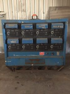 Miller 8 Pack 300 Amp 3 Phase Welding Machine