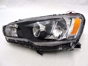 For 2009 2015 Mitsubishi Lancer Left Driver Headlamp Headlight Halogen Oem