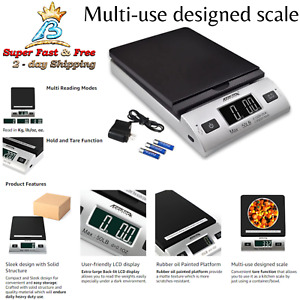 Multi use Designed Scale Sleek Digital Shipping Postal Scale With Ac Adapter New