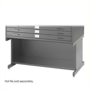 Safco Open 20 h Base For Flat File Cabinet In Gray