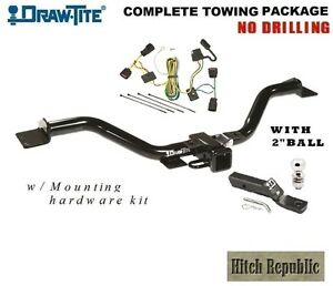 Class 3 Trailer Hitch Package W 2 Ball For 2009 2012 Chevy Traverse 75528