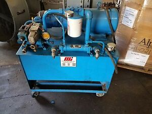 2 Used Motion Industries Core Pull Hydraulic Pumping Stations