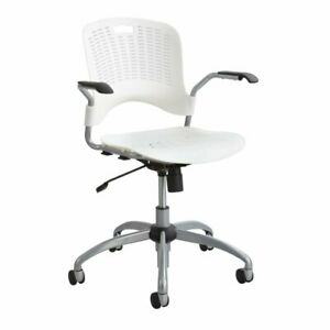 Safco Products Sassy Manager Swivel Chair In White