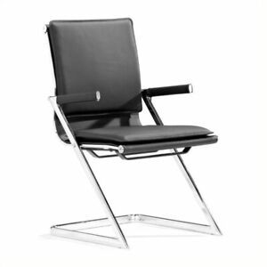 Brika Home Plus Conference Guest Chair In Black