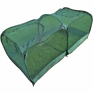 Rite Farm Products Pop Up Poultry Pen Portable Chicken Rabbit Bird Run Cage Coop